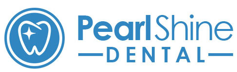 Pearl Shine Dental Logo Banner