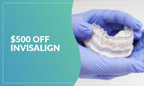 $500 Off Invisalign Offer